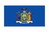 New York State Flag Art