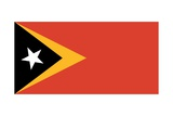 Flag of East Timor Poster
