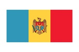 Flag of Moldova Prints