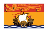 Flag of New Brunswick Posters