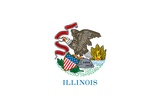 Illinois State Flag Posters