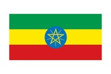 Flag of Ethiopia Poster