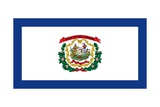 West Virginia State Flag Posters