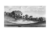 Green Hill, an Estate in Pennsylvania, in 1792 Prints