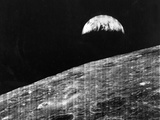 Earth Rise Viewed from the Moon Photographic Print