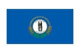 Kentucky State Flag Print