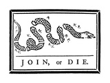 """Join, or Die"" Prints"