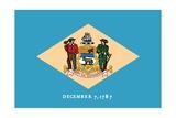 Delaware State Flag Prints