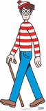 Where's Waldo Lifesize Standup Cardboard Cutouts