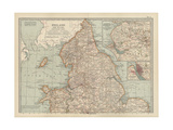 Map of England and Wales Prints