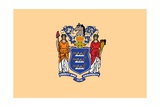 New Jersey State Flag Art