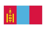Flag of Mongolia Poster