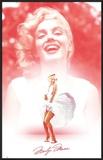 Marilyn Monroe - White-Pink-Smile Prints