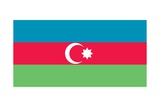 Flag of Azerbaijan Prints