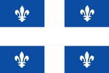 Flag of Quebec Poster