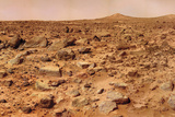 Twin Peaks on Mars Photographic Print