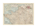 Map of France Prints