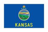 Kansas State Flag Prints