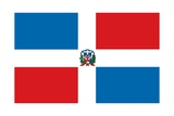 Flag of the Dominican Republic Poster