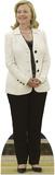 Hillary Clinton - White Jacket Lifesize Standup Cardboard Cutouts