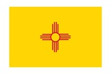 New Mexico State Flag Art