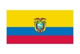 Flag of Ecuador Poster