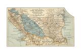 Map of Lake Nicaragua Prints