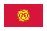 Flag of Kyrgyzstan Posters