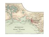 Map of Honolulu Prints