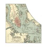 Map of Charleston Art