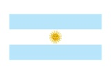 Flag of Argentina Posters