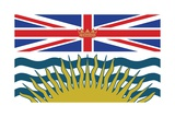 Flag of British Columbia Art