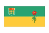 Flag of Saskatchewan Posters