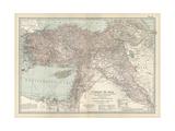Map of Turkey Prints