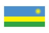 Flag of Rwanda Kunst