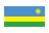 Flag of Rwanda Art