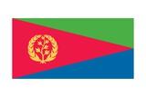Flag of Eritrea Kunst