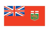 Flag of Manitoba Prints