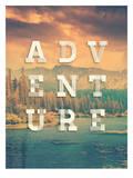 Adventure Posters by Brett Wilson