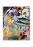 Picture with a Circle, 1911 Giclee Print by Wassily Kandinsky
