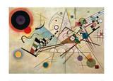 Composition VIII, 1923 Giclée-tryk af Wassily Kandinsky