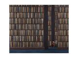 The Book Worm Giclée-Druck von Rebecca Campbell