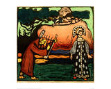 The Dulcimer Player, 1907 Giclee Print by Wassily Kandinsky