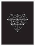 Diamond Black Prints by Brett Wilson