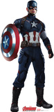 Avengers: Age Of Ultron - Captain America Lifesize Standup Cardboard Cutouts