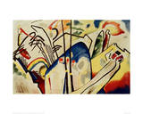 Composition IV, 1911 Giclee Print by Wassily Kandinsky