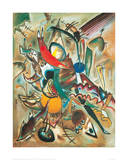 Painting with Spikes, Composition No. 2, 1919 Lámina giclée por Wassily Kandinsky