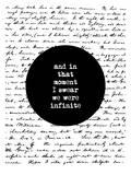 Brett Wilson - And In That Moment I Swear We Were Infinite Plakát