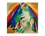 Mountain, 1909 Giclee Print by Wassily Kandinsky