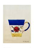 Sketch for a Milk Cup, 1920 Giclée-Druck von Wassily Kandinsky
